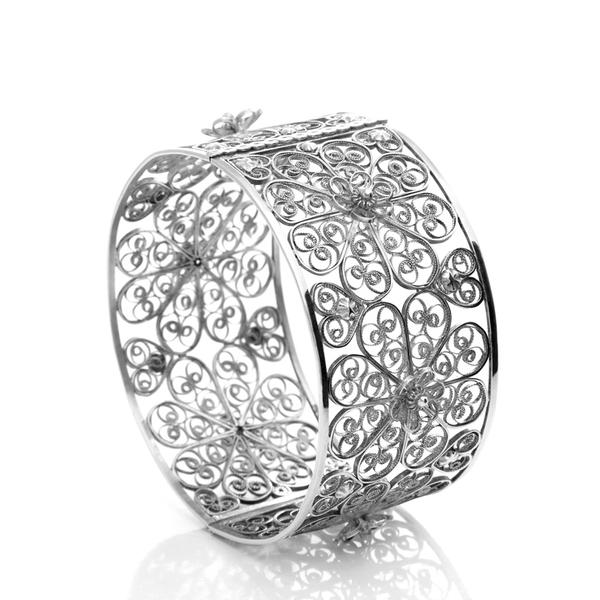 Arabel Lebrusan Filigree Bangle