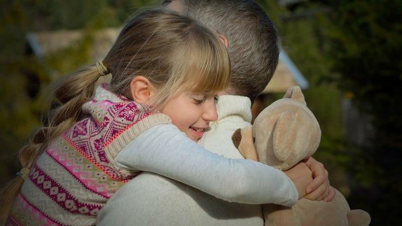 hug someone you love every day