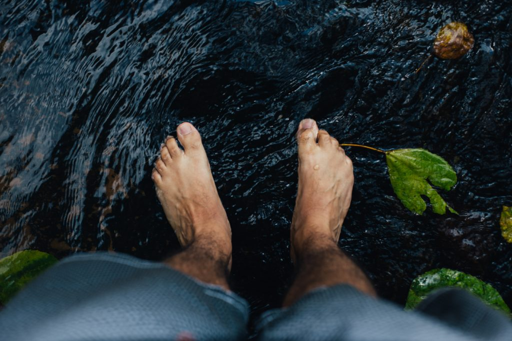 grounding in the water