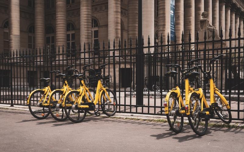 city bikes sharing economy